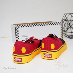 Vans Shoes - Disney X Vans Mickey Mouse Sneakers NEW W BOX